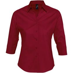 Textil Mulher camisas Sols EFFECT ELEGANT Rojo