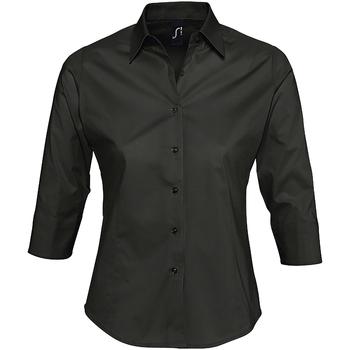 Textil Mulher camisas Sols EFFECT ELEGANT Negro