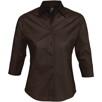 Textil Mulher camisas Sols EFFECT ELEGANT Marrón
