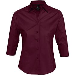 Textil Mulher camisas Sols EFFECT ELEGANT violeta