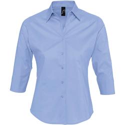 Textil Mulher camisas Sols EFFECT ELEGANT Azul
