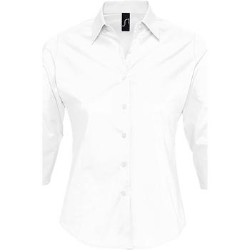 Textil Mulher camisas Sols EFFECT ELEGANT Blanco