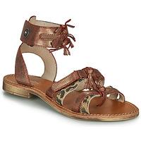 Sapatos Rapariga Sandálias Catimini CABRI Castanho