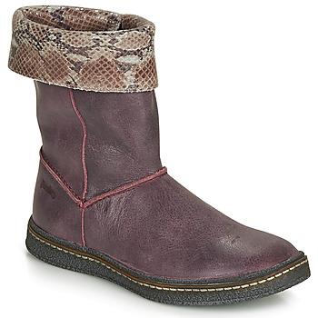 Sapatos Rapariga Botas Ramdam CRACOVIE Bordô