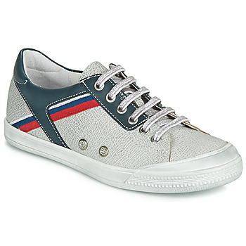 Sapatos Rapaz Sapatilhas Ramdam KAGOSHIMA Branco / Azul