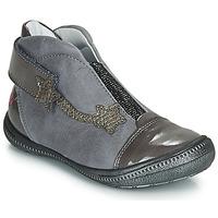 Sapatos Rapariga Botas baixas GBB NOLWENN Cinza / Prata