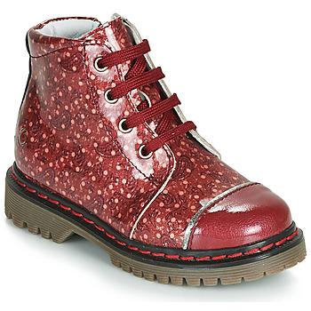 Sapatos Rapariga Botas baixas GBB NEVA Vermelho