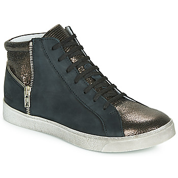 Sapatos Rapariga Sapatilhas de cano-alto Achile CARLA Preto