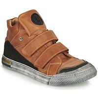 Sapatos Rapaz Sapatilhas de cano-alto Achile HUGO Castanho