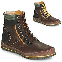 Sapatos Rapaz Botas baixas Achile MANUEL Castanho