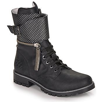 Sapatos Rapariga Botas Ikks PEGGY Preto