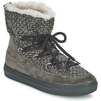 Sapatos Mulher Sapatilhas de cano-alto Kennel + Schmenger PIETRU Cinza