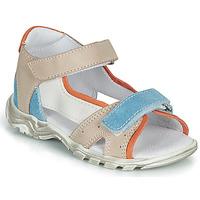 Sapatos Rapaz Sandálias GBB PHILIPPE Bege