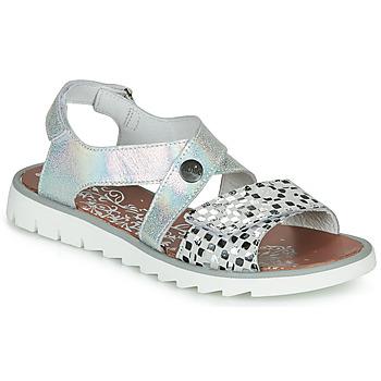 Sapatos Rapariga Sandálias Achile HIKARI Prata