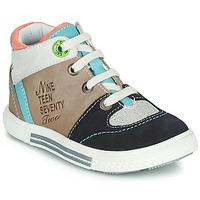 Sapatos Rapaz Sapatilhas de cano-alto Catimini PIMENT Bege
