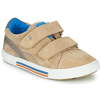 Sapatos Rapaz Sapatilhas Catimini PERRUCHE Bege