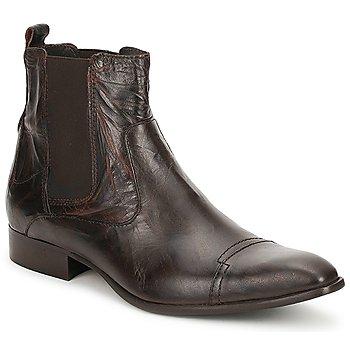 Sapatos Homem Botas baixas Carlington RINZI Castanho