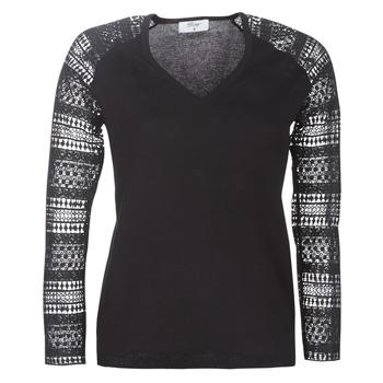 Textil Mulher camisolas Betty London LOLA Preto