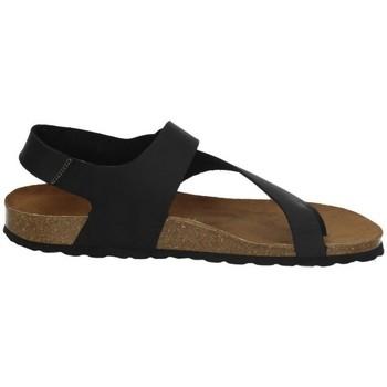 Sapatos Homem Sandálias Interbios  Preto