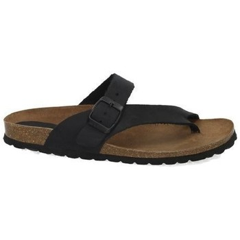 Sapatos Mulher Chinelos Interbios  Preto