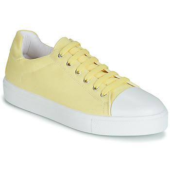 Sapatos Mulher Sapatilhas André SAMANA Amarelo