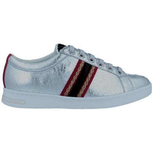 Sapatos Mulher Sapatilhas Geox Jaysen D921BA Sneakers de Mujer prata