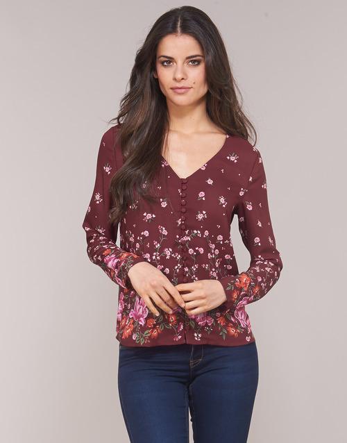 Textil Mulher Tops / Blusas Casual Attitude LICINIA Bordô