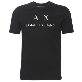 Textil Homem T-Shirt mangas curtas Armani Exchange 8NZTCJ-Z8H4Z-1200 Preto