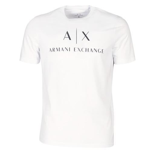 Textil Homem T-Shirt mangas curtas Armani Exchange 8NZTCJ-Z8H4Z-1100 Branco