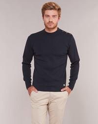 Textil Homem camisolas Armor Lux MATT Marinho