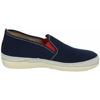 Sapatos Homem Mocassins Vulca-bicha  Azul