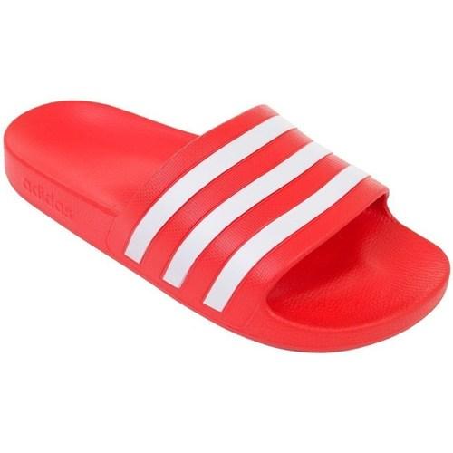 Sapatos Homem chinelos adidas Originals Adilette Aqua Vermelho