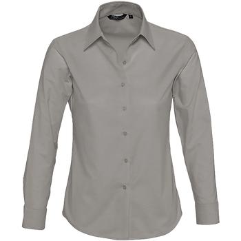 Textil Mulher camisas Sols EMBASSY Plata