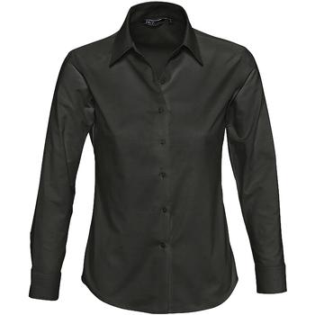 Textil Mulher camisas Sols EMBASSY Negro