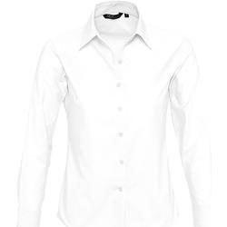 Textil Mulher camisas Sols EMBASSY Blanco