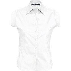 Textil Mulher camisas Sols EXCESS Blanco