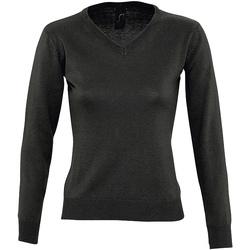 Textil Mulher camisolas Sols GALAXY SWEATER WOMEN Negro