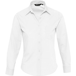 Textil Mulher camisas Sols EXECUTIVE Blanco