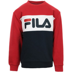Textil Criança Sweats Fila Kids Night Blocked Crew Sweat Azul