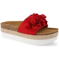 Sapatos Mulher Alpargatas Ainy B8121 Rojo