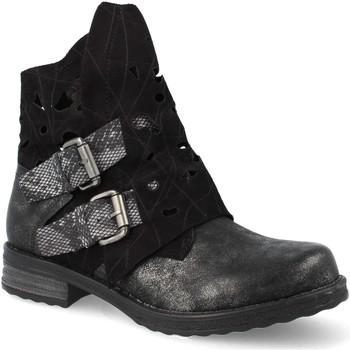 Sapatos Mulher Botins Ainy F3051 Negro