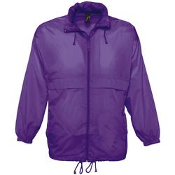 Textil Corta vento Sols SURF REPELENT HIDRO violeta