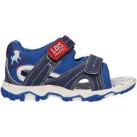 Sapatos Rapaz Sandálias Lois 46085 Azul