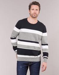 Textil Homem camisolas Casual Attitude LORISS Preto / Cinza