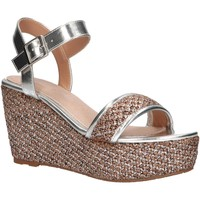 Sapatos Mulher Alpargatas Maria Mare 67494 Plateado