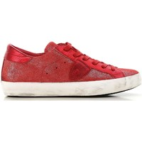 Sapatos Mulher Sapatilhas Philippe Model CLLD XM89 rosso