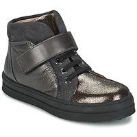 Sapatos Rapariga Sapatilhas Unisa CALATA Cinza / Preto