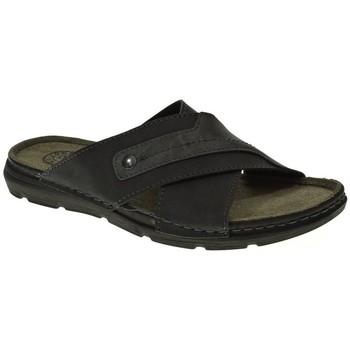 Sapatos Homem Sandálias Kelara 8011 preto