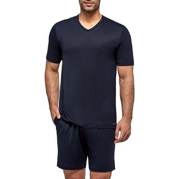 Textil Homem Pijamas / Camisas de dormir Impetus Travel 4065F84 F86 Azul