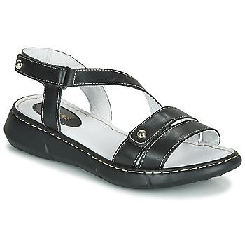 Sapatos Mulher Chinelos André ALIX Preto